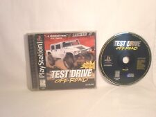 Test Drive Off-Road (Sony PlayStation 1, 1997)  complete