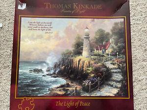 Thomas Kinkade 500 Piece Jigsaw Puzzle The Light Of Peace Brand New