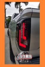 2014-2017 Toyota Tundra Black Smoked PREMIER LUMINANCE LED Tail Lights Set OLED