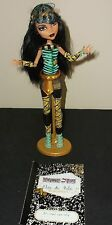Monster High School's Out - Cleo De Nile - Daughter of Mummy - EUC!!