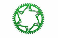 KAWASAKI 2004-2016 ZX10R VORTEX CAT5 ALUMINUM 520 REAR SPROCKET 38-47 GREEN