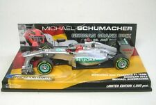 Mercedes AMG F1 No. 7 M.Schumacher Hockenheimring Showcar 2012