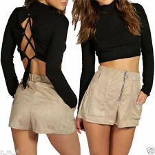 Unbranded Polyester Machine Washable Petite Shorts for Women