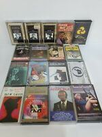 Vintage Retro Jazz Music Cassettes Tapes Bundle x 17 Louis Armstrong Frankie