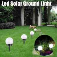 2/4/6Pcs LED Solar Power Ground Lights Floor Decking Patio Garden Lawn Path Lamp