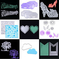 Metal Cutting Dies Stencil Scrapbook DIY Paper Card Craft Embossing Die-Cut Gift