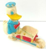 Donald Duck Marx Ramp Walker Disney 1950 s Vintage Incline Toy Made in Hong Kong