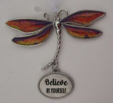 zzcc Believe in yourself Delightful Dragonfly Ornament Ganz faith