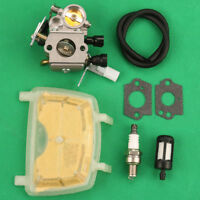 Carburetor Carb Air Fuel Filter For STIHL MS171 MS181 MS211 MS211C Chainsaw