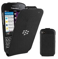 ORIGINALE BlackBerry Flip Shell Case Cover per BlackBerry Q10-Nero