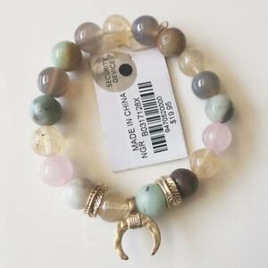 New 1pcs Stone Beads Stretch Bracelet Gift Fashion Women Party Holiday Jewelry