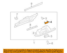 GM OEM Glove Compartment Box-Stopper 15854854