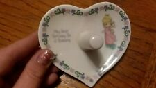 "1996 Precious Moments ""May your birthday be a blessing"" Ring Holder"