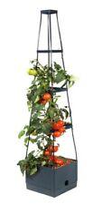 Pflanzturm Tomatenturm Rankhilfe Aufzuchtturm mit Bewässerungssystem