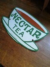 Nectar Tea Enamel Sign small sign