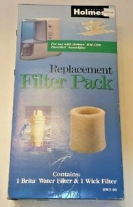 Homes Replacement Filter Pack HWF-80, 1 Brita Water Filter & 1 Humidifier Filter