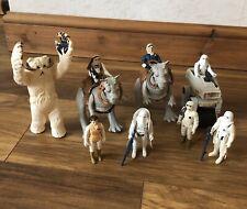 Vintage Star Wars Figure Bundle With Wampa And Taun Tauns - Hoth Set ( ESB)