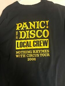 Panic! At The Disco Stagehand Shirt Original 2006