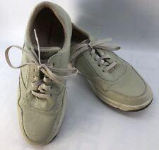 Rockport Mens Prowalker Beige Wheat Walking Shoes Leather Upper Size 11 EUC