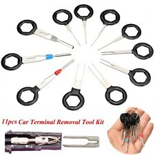 11Pcs Car Wire Terminal Removal Tool Wiring connector Pin Extractor Puller Tools