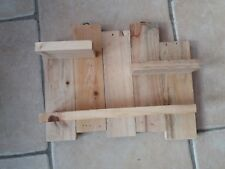 Rustic Wooden Shelf Re-cycled Wood