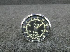 Beech K35 Outside Air Temperature OAT Gauge P/N35-380019-1