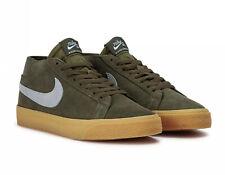 Nike SB Zoom Blazer Chukka AT9765-201 Medium Olive Size UK 6 EU 39 24.5cm New