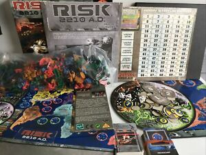 Risk 2210 A.D Board Game Used But In Good Condition Free Postage
