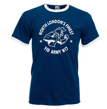 North London's Finest, YID Army N17 Hooligans Tshirt. Spurs. Lilywhites