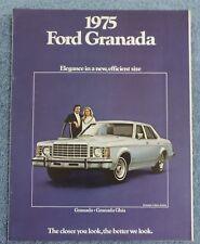 1975 FORD GRANADA SALES BROCHURE