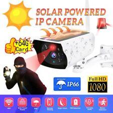 1080P HD Solar Camera Wireless Outdoor WIFI Security IR Camera CCTV Night Vision