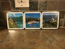 Souvenir Germany Cork Coaster Set Of 6 - Brand New in Package