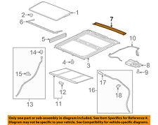 GMC GM OEM 10-17 Terrain Sunroof-Gutter 22949347