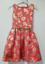 Girls Party Dress With Belt Age 11-12 Years Pre-owned