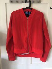 Adidas Red Jacket. Uk 10. S. NWT