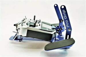 Pro Grip Transmitter Tray for any Radio Control RC Radio Blue Finish with Strap