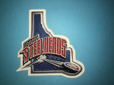 Rare Idaho Steelheads ECHL Hockey CCM Jersey Shoulder Patch Crest