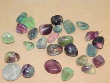 Fluorite tumbled stones 1/4 pound  (14839)