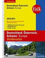 Falk Straßenatlas Deutschland / Österreich / Schweiz / Europa 2010/2011 (1:300 0
