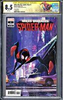 CGC SS 8.5⚡️⚡️MILES MORALES:SPIDER-MAN #1🕸🔥Animation Variant🔥SHAMEIK MOORE🔥