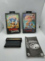 Sonic The Hedgehog 1 Not for Resale sonic 2 Sega Genesis Sonic and Knuckles