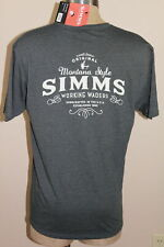 Simms 100 Proof Hoody Navy Heather Select Sizes New Closeout