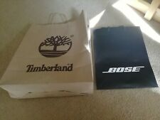 Timberland and Bose Gift bags