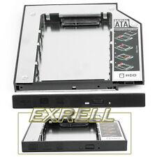 """2,5"""" SATA SSD HD Hard Drive Case Caddy Vasoio 12,7mm Universale per Laptop PC"""