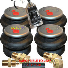 """Air Ride Bags Springs 4 D-I 2600 1/2""""npt >1/2 """"airline 7-Switch Controller"""