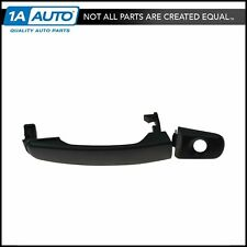 Door Handle Outside Black Front Left LH w/ Lock Hole for 05-09 Chevy Equinox