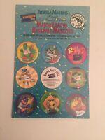 VTG 1995 MLB Mascots Pogs/Milkcaps Collector Set NIP W/Slammer SGA Marlins RARE