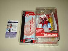 Chris Chelios Signed McFarlane Series 7 JSA #P50861 Detroit Red Wings Hockey NHL