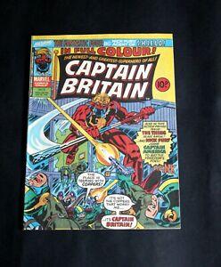 Captain Britain comic No.3, Oct 27, 1976.Fun page untouched.VF Very Fine