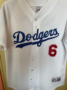 Authentic Majestic Dodgers Jersey- Steve Garvey